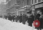 Image of snow covered roads Moscow Russia Soviet Union, 1920, second 8 stock footage video 65675053629