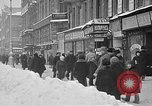 Image of snow covered roads Moscow Russia Soviet Union, 1920, second 9 stock footage video 65675053629