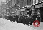 Image of snow covered roads Moscow Russia Soviet Union, 1920, second 11 stock footage video 65675053629