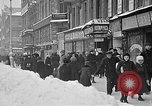 Image of snow covered roads Moscow Russia Soviet Union, 1920, second 12 stock footage video 65675053629