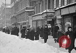 Image of snow covered roads Moscow Russia Soviet Union, 1920, second 13 stock footage video 65675053629