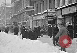 Image of snow covered roads Moscow Russia Soviet Union, 1920, second 14 stock footage video 65675053629