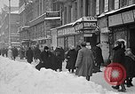 Image of snow covered roads Moscow Russia Soviet Union, 1920, second 15 stock footage video 65675053629