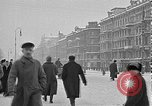 Image of snow covered roads Moscow Russia Soviet Union, 1920, second 16 stock footage video 65675053629
