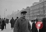 Image of snow covered roads Moscow Russia Soviet Union, 1920, second 17 stock footage video 65675053629