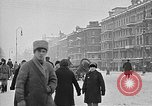 Image of snow covered roads Moscow Russia Soviet Union, 1920, second 19 stock footage video 65675053629