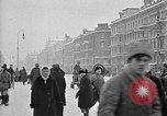 Image of snow covered roads Moscow Russia Soviet Union, 1920, second 20 stock footage video 65675053629