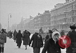 Image of snow covered roads Moscow Russia Soviet Union, 1920, second 22 stock footage video 65675053629