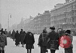Image of snow covered roads Moscow Russia Soviet Union, 1920, second 23 stock footage video 65675053629
