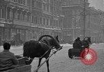 Image of snow covered roads Moscow Russia Soviet Union, 1920, second 25 stock footage video 65675053629