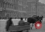 Image of snow covered roads Moscow Russia Soviet Union, 1920, second 26 stock footage video 65675053629