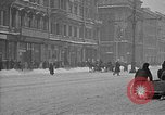 Image of snow covered roads Moscow Russia Soviet Union, 1920, second 28 stock footage video 65675053629