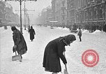 Image of snow covered roads Moscow Russia Soviet Union, 1920, second 37 stock footage video 65675053629
