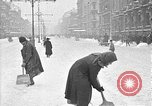 Image of snow covered roads Moscow Russia Soviet Union, 1920, second 38 stock footage video 65675053629