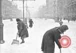 Image of snow covered roads Moscow Russia Soviet Union, 1920, second 39 stock footage video 65675053629