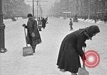 Image of snow covered roads Moscow Russia Soviet Union, 1920, second 41 stock footage video 65675053629