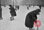 Image of snow covered roads Moscow Russia Soviet Union, 1920, second 43 stock footage video 65675053629