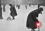 Image of snow covered roads Moscow Russia Soviet Union, 1920, second 44 stock footage video 65675053629