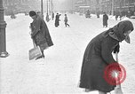 Image of snow covered roads Moscow Russia Soviet Union, 1920, second 45 stock footage video 65675053629