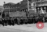 Image of Citizens parade Moscow Russia Soviet Union, 1946, second 25 stock footage video 65675053632