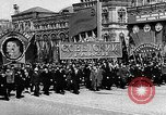 Image of Citizens parade Moscow Russia Soviet Union, 1946, second 28 stock footage video 65675053632