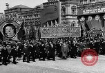 Image of Citizens parade Moscow Russia Soviet Union, 1946, second 29 stock footage video 65675053632