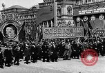 Image of Citizens parade Moscow Russia Soviet Union, 1946, second 30 stock footage video 65675053632