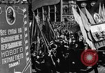 Image of Citizens parade Moscow Russia Soviet Union, 1946, second 33 stock footage video 65675053632