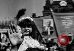 Image of Citizens parade Moscow Russia Soviet Union, 1946, second 48 stock footage video 65675053632