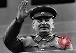 Image of Citizens parade Moscow Russia Soviet Union, 1946, second 51 stock footage video 65675053632