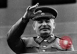 Image of Citizens parade Moscow Russia Soviet Union, 1946, second 52 stock footage video 65675053632