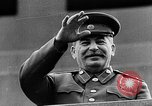 Image of Citizens parade Moscow Russia Soviet Union, 1946, second 53 stock footage video 65675053632