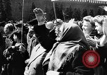 Image of Citizens parade Moscow Russia Soviet Union, 1946, second 55 stock footage video 65675053632