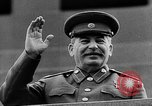 Image of Citizens parade Moscow Russia Soviet Union, 1946, second 58 stock footage video 65675053632