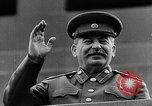 Image of Citizens parade Moscow Russia Soviet Union, 1946, second 59 stock footage video 65675053632