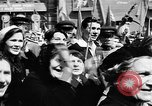 Image of Citizens parade Moscow Russia Soviet Union, 1946, second 61 stock footage video 65675053632