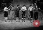 Image of indoor ski slope New York City USA, 1936, second 12 stock footage video 65675053650