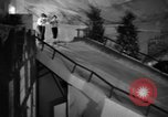 Image of indoor ski slope New York City USA, 1936, second 30 stock footage video 65675053650