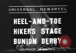 Image of Bunion Derby New York City USA, 1936, second 2 stock footage video 65675053651