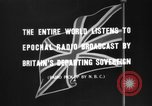 Image of British citizens listen to radio broadcasts London England United Kingdom, 1936, second 9 stock footage video 65675053653