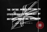 Image of British citizens listen to radio broadcasts London England United Kingdom, 1936, second 13 stock footage video 65675053653