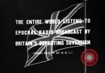 Image of British citizens listen to radio broadcasts London England United Kingdom, 1936, second 19 stock footage video 65675053653