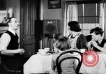 Image of British citizens listen to radio broadcasts London England United Kingdom, 1936, second 30 stock footage video 65675053653