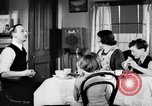 Image of British citizens listen to radio broadcasts London England United Kingdom, 1936, second 31 stock footage video 65675053653