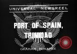 Image of Franklin Roosevelt Port-of-Spain Trinidad, 1936, second 2 stock footage video 65675053656