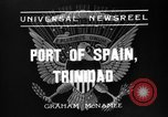 Image of Franklin Roosevelt Port-of-Spain Trinidad, 1936, second 3 stock footage video 65675053656