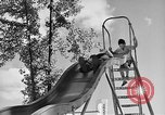 Image of Life in early cooperative community Greenbelt Maryland USA, 1939, second 12 stock footage video 65675053712