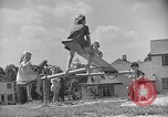 Image of Life in early cooperative community Greenbelt Maryland USA, 1939, second 21 stock footage video 65675053712