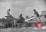 Image of Life in early cooperative community Greenbelt Maryland USA, 1939, second 22 stock footage video 65675053712