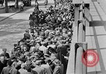 Image of German citizens view concentration camp Germany, 1945, second 41 stock footage video 65675054792